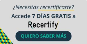 Recertify MiFID